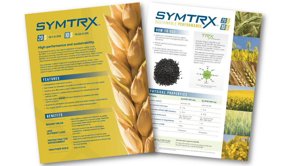 SymTRX Product Sheet